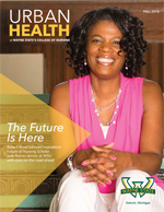 cover of the 2016 urban health nursing magazine